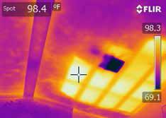 missing insulation