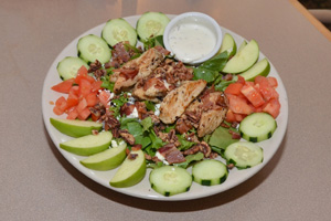 The Autumn Chicken Salad has a smorgasbord of fresh ingredients.
