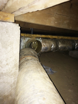 Disconnected ductwork is a common problem in American homes.
