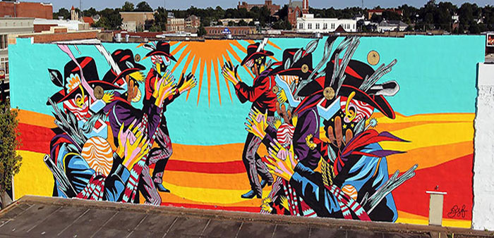 'The Unexpected'    Fort Smith  World-class street art energizes downtown