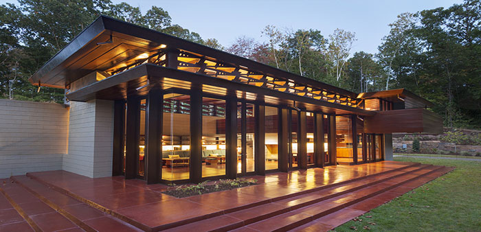 Building enthusiasm for Frank Lloyd Wright – Bachman-Wilson House at Crystal Bridges is an architectural masterpiece