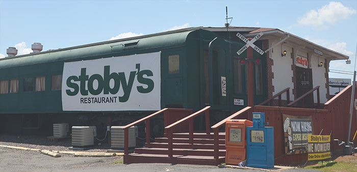 All aboard for Stoby's