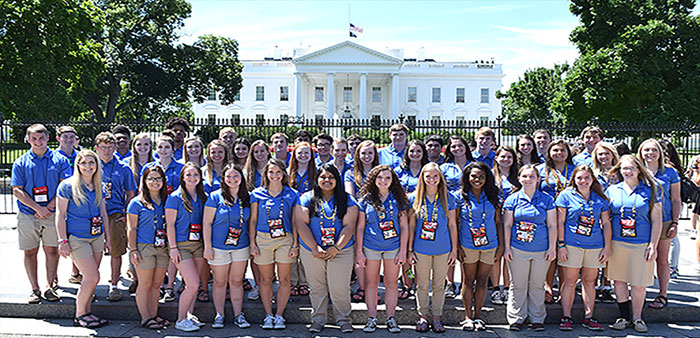 An American Journey – Arkansas students tour nation's capital
