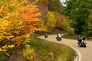 Talimena National Scenic Byway.