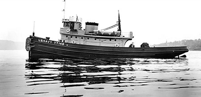 USS Hoga is centerpiece of 75th anniversary commemoration