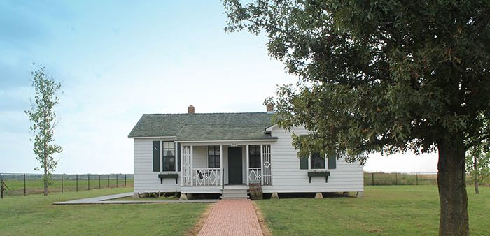 A visit to Johnny Cash's childhood home in Dyess