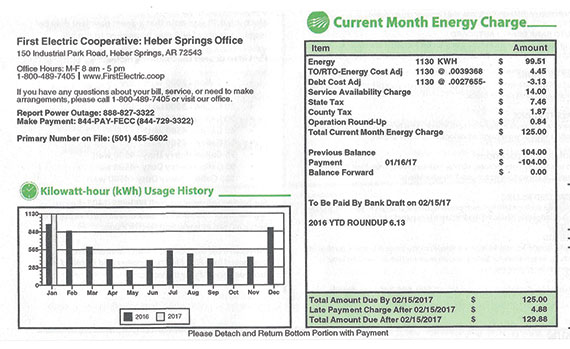 Electric Bill I ~ Apples to oranges your electric bill and neighbor s