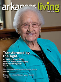 Link to the current Arkansas Living magazine