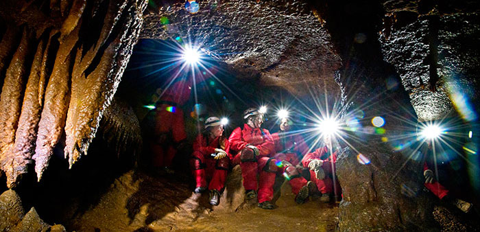 Cool Caves Spelunkers explore Arkansas