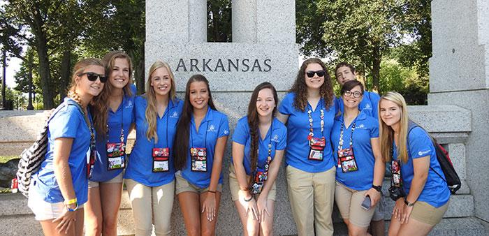 A trip of a lifetime – Arkansas students tour nation's capital
