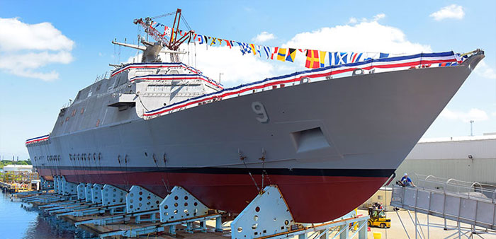 U.S.S. Little Rock to be commissioned & Fall back, daylight saving time