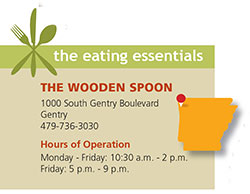 The Wooden Spoon Stirs Up Great Home Cooking Arkansas Living Magazine