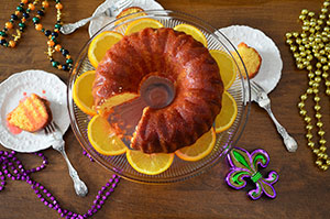 Let the good times roll with a Mardi Gras menu