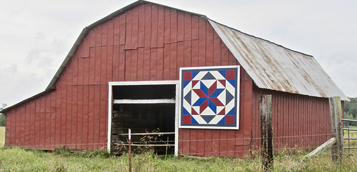 Piece by Piece – Arkansas Quilt Trails:  An emerging patchwork