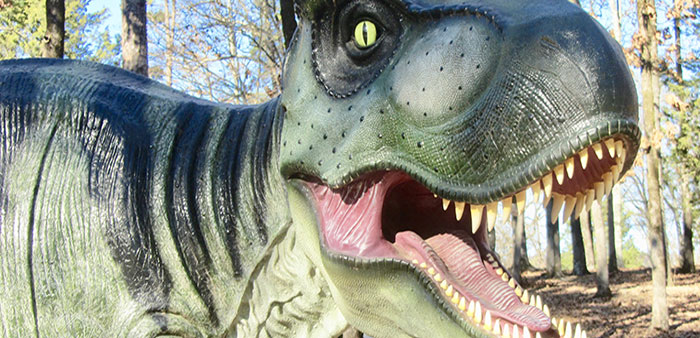 Roar and explore at the Mid-America Science Museum