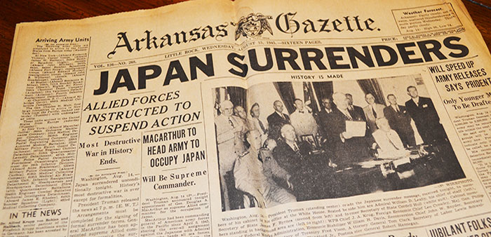 V is for Victory – Arkansans helped Allies prevail in WWII