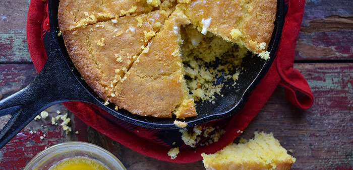 Golden Goodness – Classic, comforting Arkansas cornbread