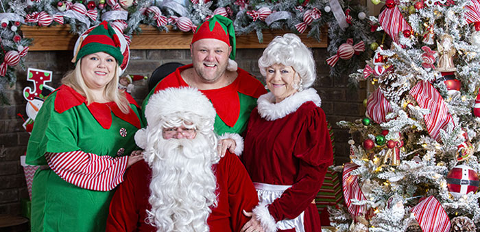 Making Spirits Bright -The Forrest family delivers annual Christmas Eve joy