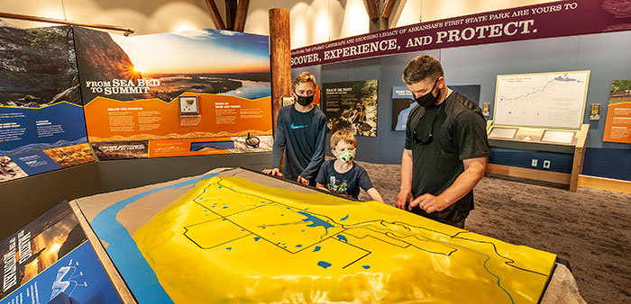 Petit Jean State Park honors founder with new visitor center – A vision for the future