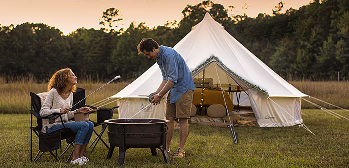 Going Glamping – Adventures in classy camping